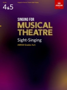 Singing for Musical Theatre Sight-Singing, ABRSM Grades 4 & 5, from 2020, Sheet music Book