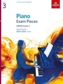 Piano Exam Pieces 2021 & 2022, ABRSM Grade 3 : Selected from the 2021 & 2022 syllabus, Sheet music Book