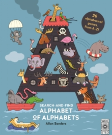 Search and Find Alphabet of Alphabets, Hardback Book