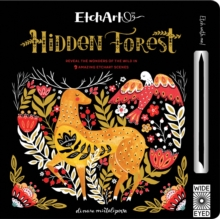 Etchart: Hidden Forest : Reveal the wonders of the wild in 9 amazing Etchart scenes, Novelty book Book