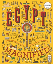 Egypt Magnified : With a 3x Magnifying Glass, Hardback Book