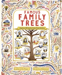 The Famous Family Trees, Hardback Book