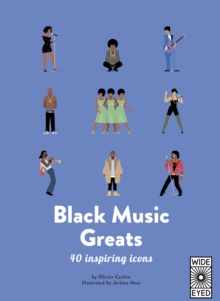 40 Inspiring Icons: Black Music Greats, Hardback Book