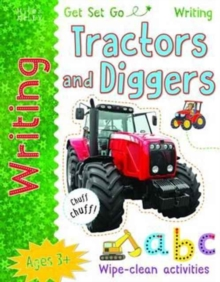 Get Set Go Writing: Tractors and Diggers, Paperback Book