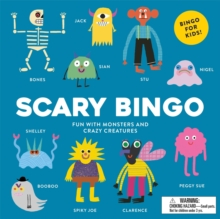 Scary Bingo : Fun with Monsters and Crazy Creatures, Game Book