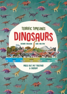 Terrific Timelines: Dinosaurs : Press out, put together and display!, Paperback / softback Book