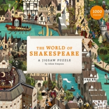 The World of Shakespeare : 1000 Piece Jigsaw Puzzle, Jigsaw Book