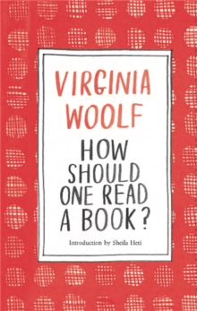 How Should One Read a Book?, Hardback Book