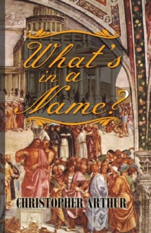 What's in a Name?, Hardback Book