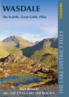 Walking the Lake District Fells - Wasdale : The Scafells, Great Gable, Pillar, Paperback / softback Book