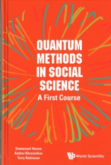 Quantum Methods In Social Science: A First Course, Hardback Book
