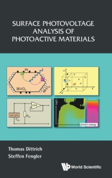 Surface Photovoltage Analysis Of Photoactive Materials, Hardback Book