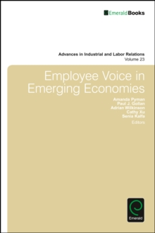 Employee Voice in Emerging Economies, Hardback Book