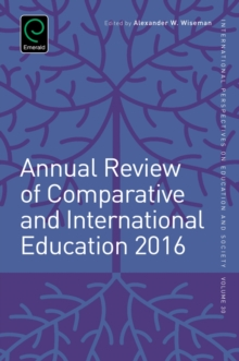 Annual Review of Comparative and International Education 2016, Hardback Book