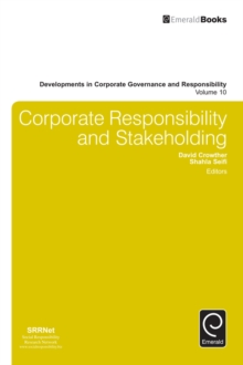 Corporate Responsibility and Stakeholding, Hardback Book