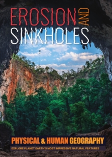 Erosion and Sinkholes, Hardback Book