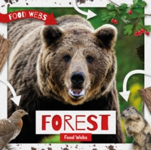 Forest Food Webs, Hardback Book