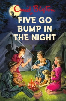Five Go Bump in the Night, Hardback Book