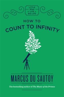 How to Count to Infinity, Hardback Book