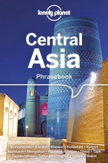 Lonely Planet Central Asia Phrasebook & Dictionary, Paperback / softback Book
