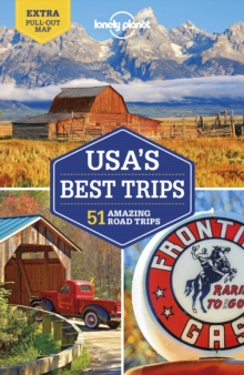Lonely Planet USA's Best Trips, Paperback Book