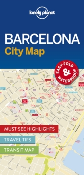 Lonely Planet Barcelona City Map, Sheet map, folded Book