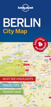 Lonely Planet Berlin City Map, Sheet map, folded Book