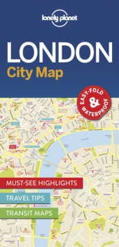 Lonely Planet London City Map, Sheet map Book