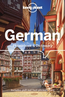 Lonely Planet German Phrasebook & Dictionary, Paperback / softback Book