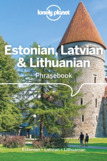 Lonely Planet Estonian, Latvian & Lithuanian Phrasebook & Dictionary, Paperback / softback Book