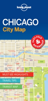 Lonely Planet Chicago City Map, Sheet map, folded Book