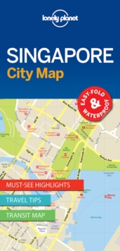 Lonely Planet Singapore City Map, Sheet map, folded Book