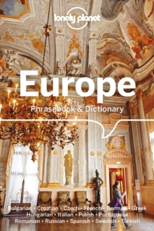 Lonely Planet Europe Phrasebook & Dictionary, Paperback / softback Book