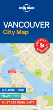 Lonely Planet Vancouver City Map, Sheet map, folded Book