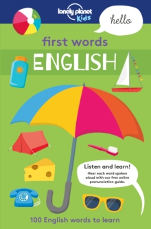 First Words - English, Paperback Book