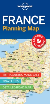 Lonely Planet France Planning Map, Sheet map, folded Book