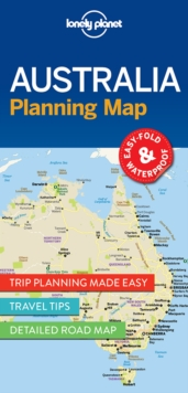 Lonely Planet Australia Planning Map, Sheet map, folded Book