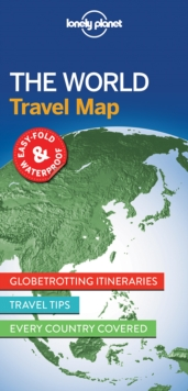 Lonely Planet The World Planning Map, Sheet map, folded Book