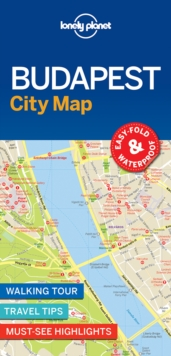 Budapest City Map, Sheet map Book