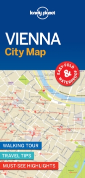 Lonely Planet Vienna City Map, Sheet map, folded Book