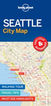 Lonely Planet Seattle City Map, Sheet map, folded Book