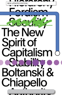 The New Spirit of Capitalism, Paperback / softback Book