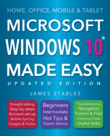 Windows 10 Made Easy (2017 edition), Paperback / softback Book