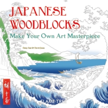 Japanese Woodblocks (Art Colouring Book) : Make Your Own Art Masterpiece, Paperback Book