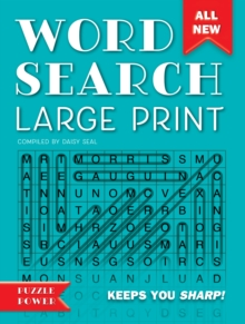 Word Search Large Print : Word Play Twists and Challenges, Spiral bound Book