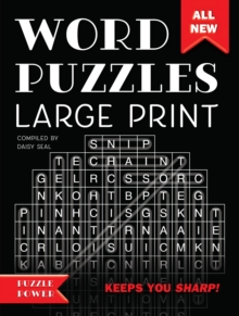 Word Puzzles Large Print : Word Play Twists and Challenges, Spiral bound Book