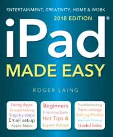 iPad Made Easy (2018 Edition), Paperback Book