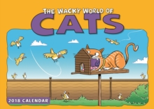 Wacky World of Cats A4, Paperback Book
