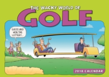 Wacky World of Golf A4, Paperback Book