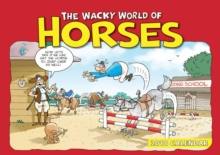 Wacky World of Horses A4, Paperback Book